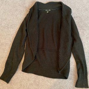 H&M black sweater shrug